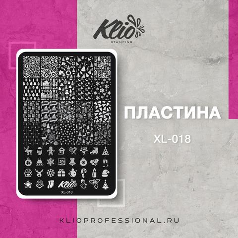 ПЛАСТИНА ДЛЯ СТЕМПИНГА KLIO PROFESSIONAL XL-018