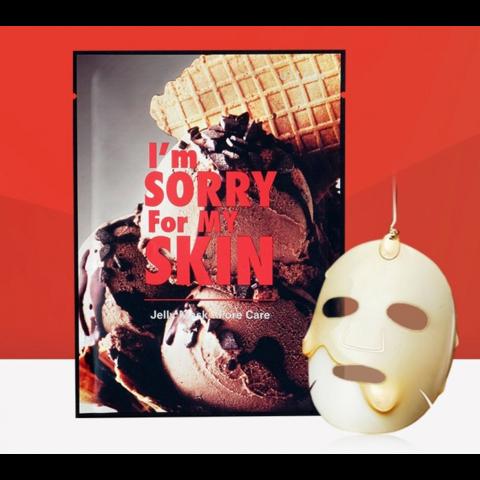 I'm Sorry for My Skin Маска гелевая для сужения пор Pore Care Jelly Mask (Ice Cream)