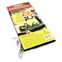Электроподогреватель для проращивания семян рассады ТеплоМакс, 50х25 см