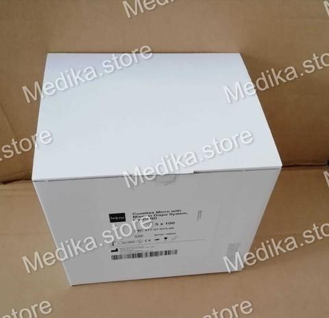 211-07-030-00 Кювета с магнитными мешалками в разовой упаковке и CuvCARD (Cuvettes Micro with Mixer in Dispo System, CuvCARD), 5 блоков по 500 штук - Helena BioSciences Europe, Великобритания