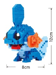 Конструктор Wisehawk & LNO Покемон Мадкип 380 деталей NO. 211 Mudkip Pokemon Gift Series