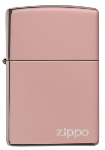 Зажигалка розовая High Polish Rose Gold ZIPPO 49190ZL