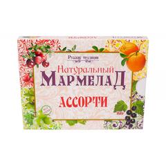 Мармелад натуральный Русские традиции Ассорти, 160гр рт-ас-160