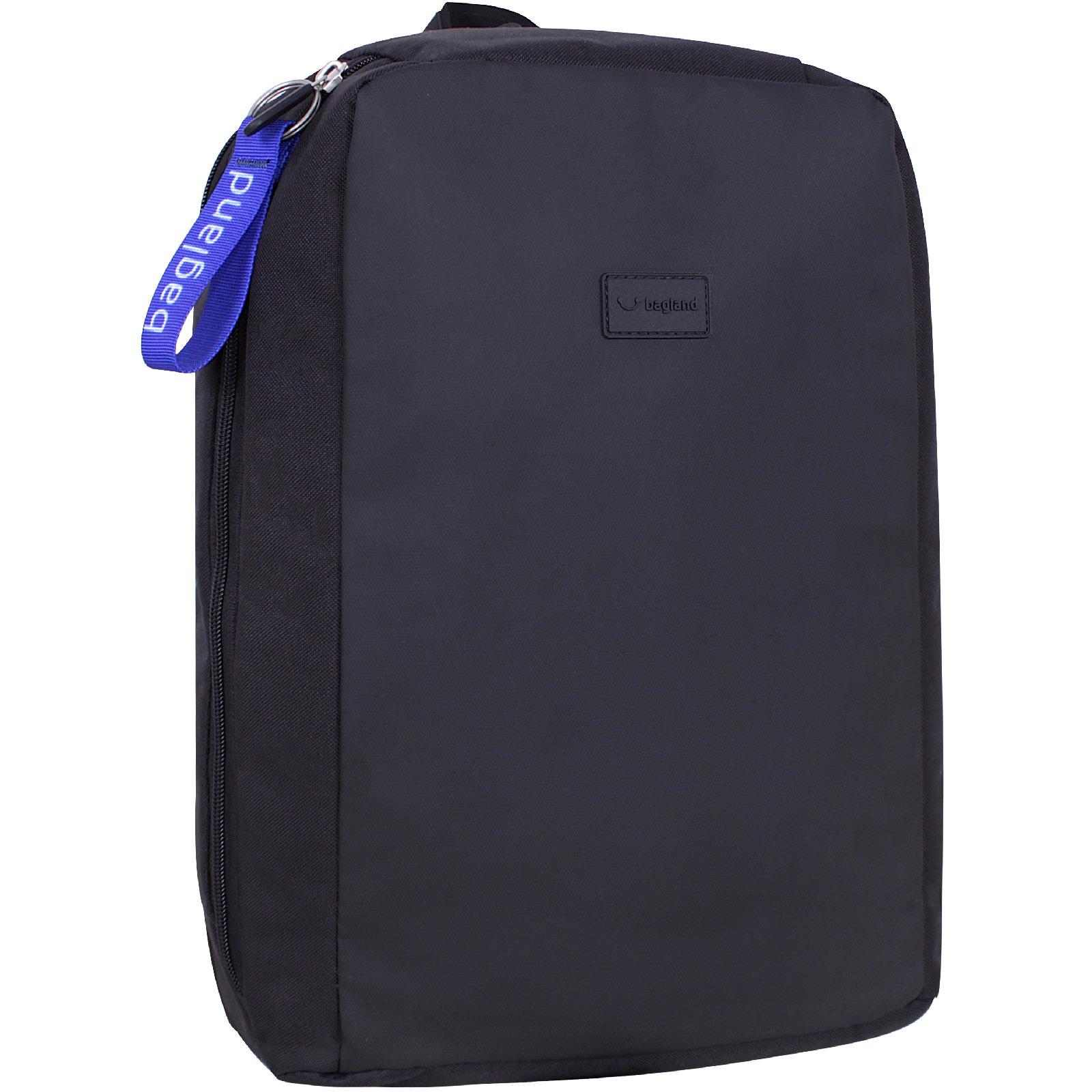 Мужские рюкзаки Рюкзак для ноутбука Bagland Joseph черный/кожзам (0012766) IMG_0282.jpg