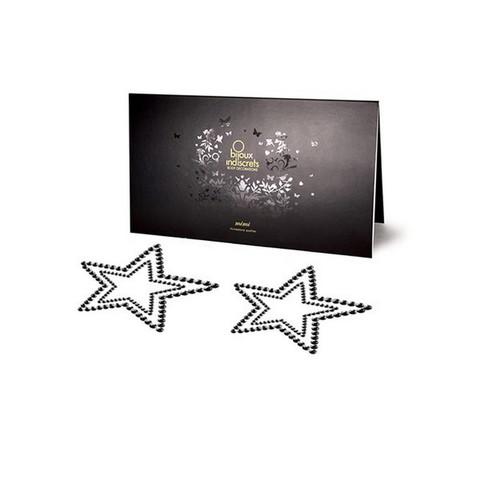 Bijoux Indiscrets Украшение на грудь Mimi Star черное
