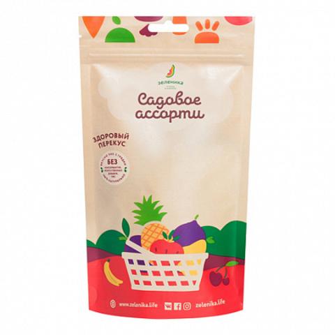 Зеленика фруктовый перекус из садового ассорти 20 г