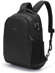 Рюкзак антивор Pacsafe Metrosafe LS350, черный econyl, 15 л.