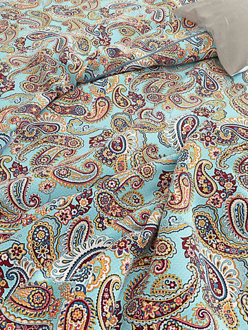 Постельное белье  -Восточная сказка- 2-сп на молнии  Наволочка 50х70 см 2 шт  Простынь на резинке 160х200х26 см  Пододеяльник 175х215 см