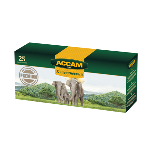 Чай ASSAM Индийский 25*1,8 г п/пак КАЗАХСТАН