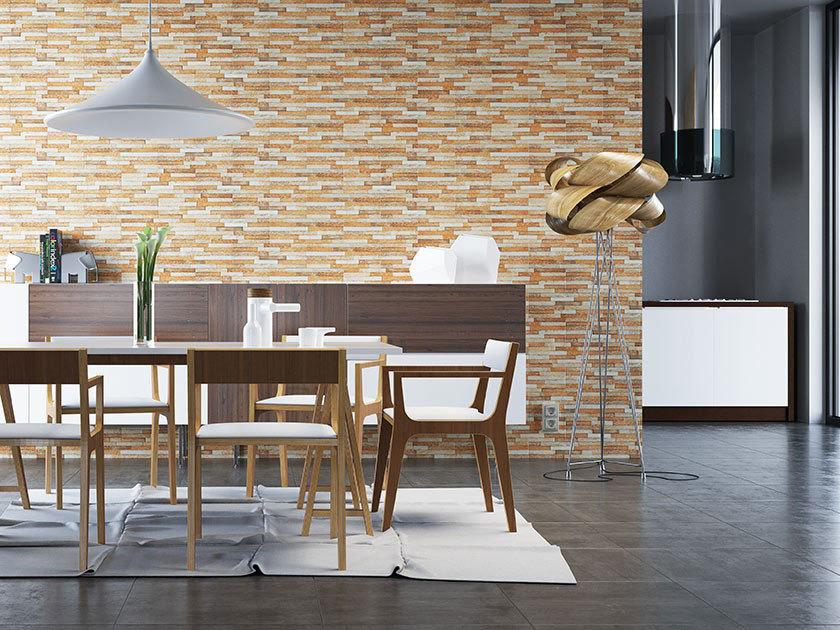 Cerrad Kallio, Amber 3775 - Цокольная плитка 45х15х0,9