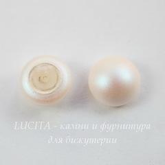 5817 Хрустальный жемчуг Сваровски (кабошон) Crystal Pearlescent White 10 мм
