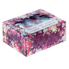 Мыльные лепестки в коробке