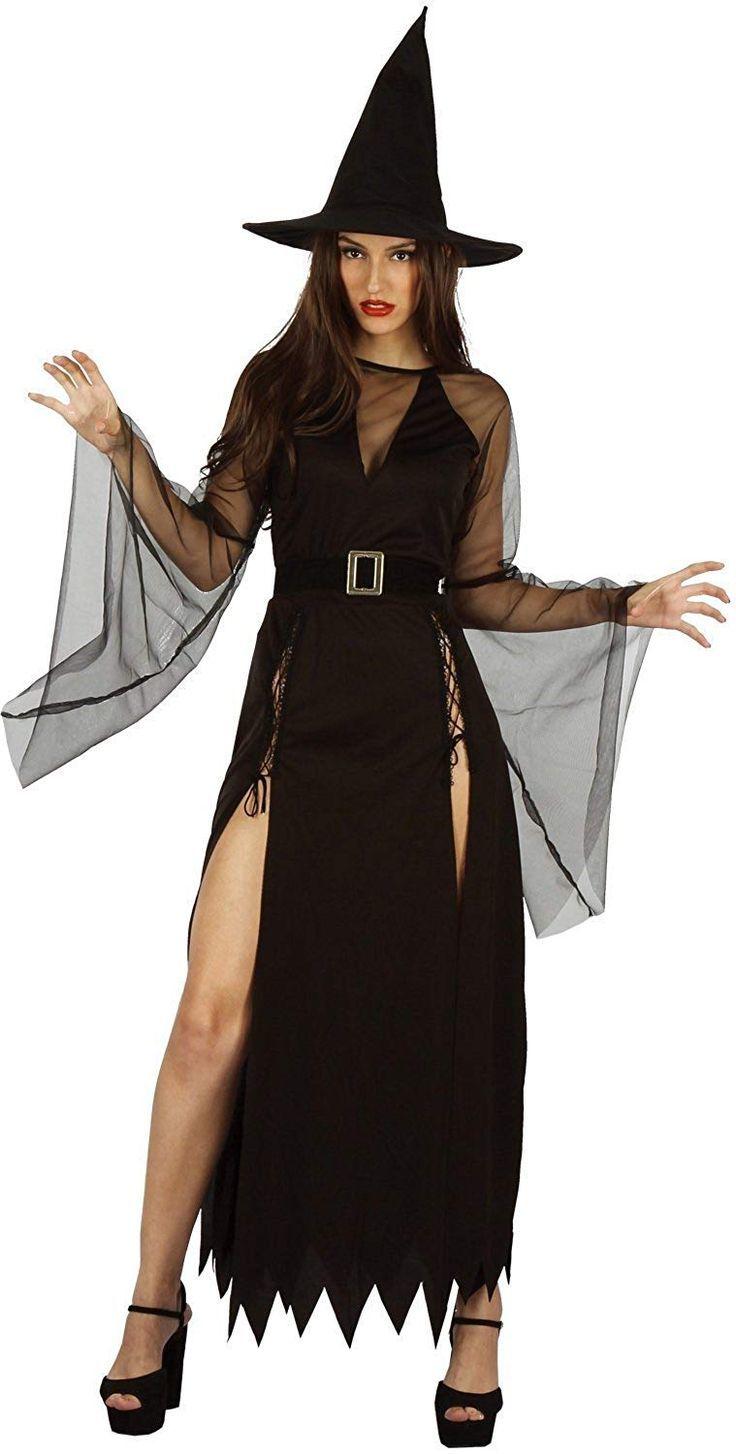 Карнавальный костюм взрослый Ведьма (Колдунья)