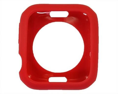 Чехол Watch 4/5 series 44 мм TPU Candy | красный