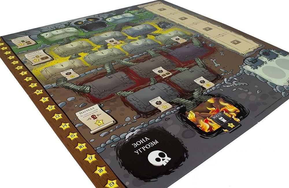 Настольная игра Манчкин: Подземелье - игровое поле