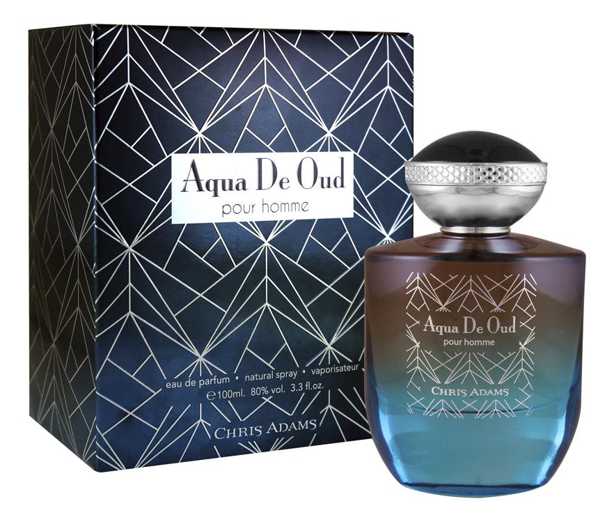 Chris Adams мужской Aqua de Oud pour homme 100мл