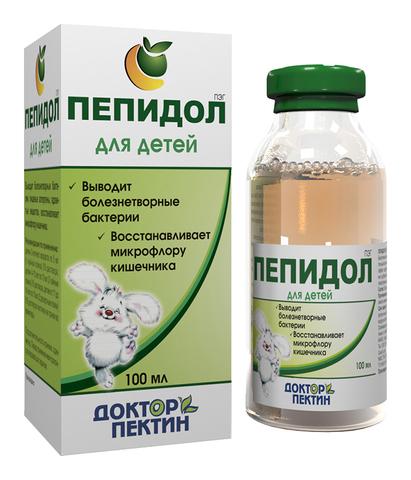 Пепидол  ПЭГ (3% р-р),100 мл. (Элюсан)