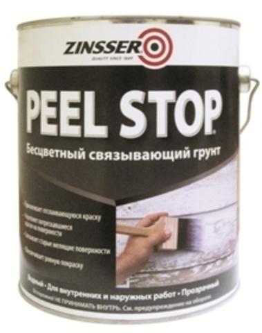 ZINSSER Peel Stop Clear Binding Primer грунт связывающий