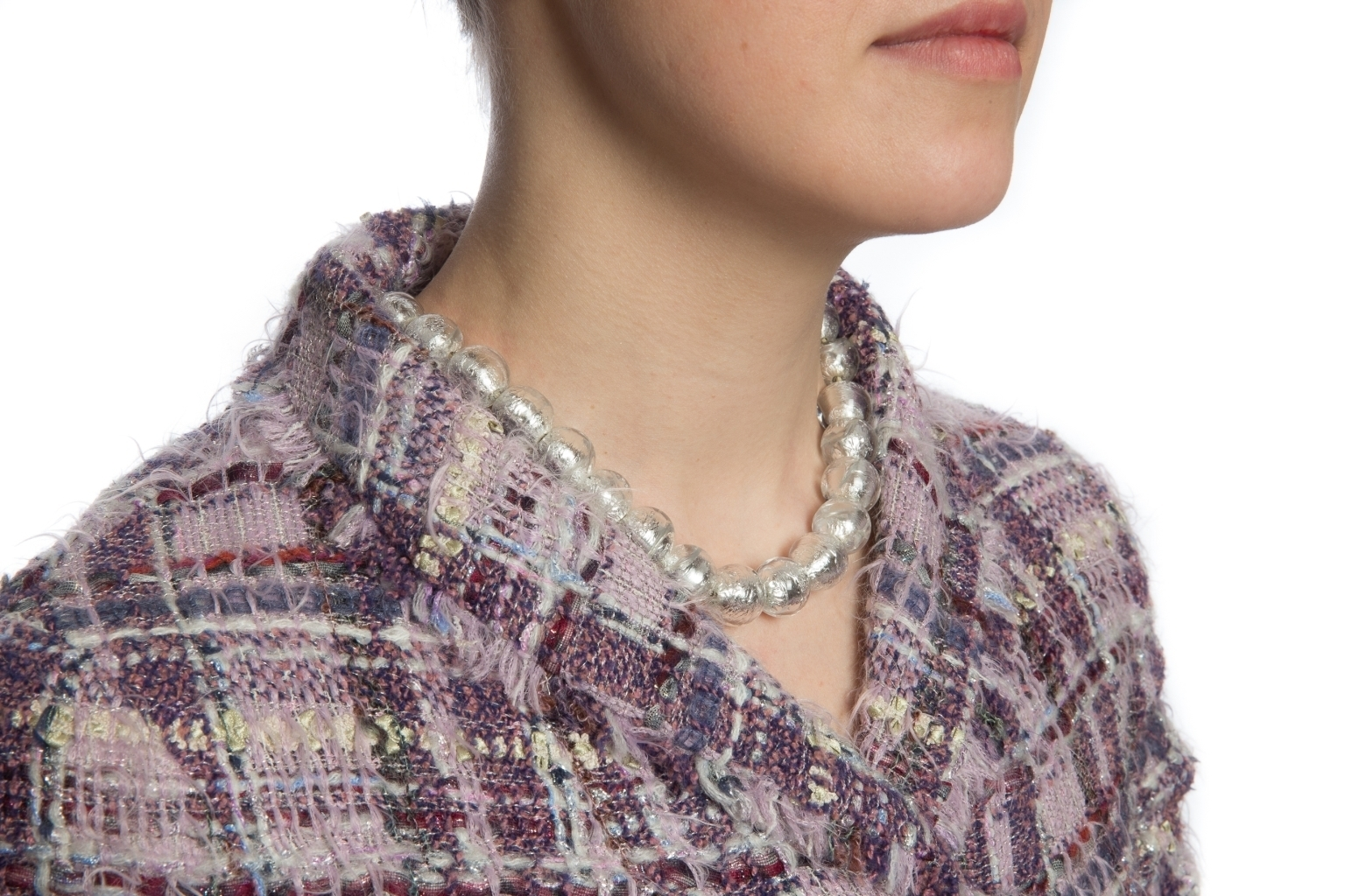 Elegant Murano glass necklace by Chanel