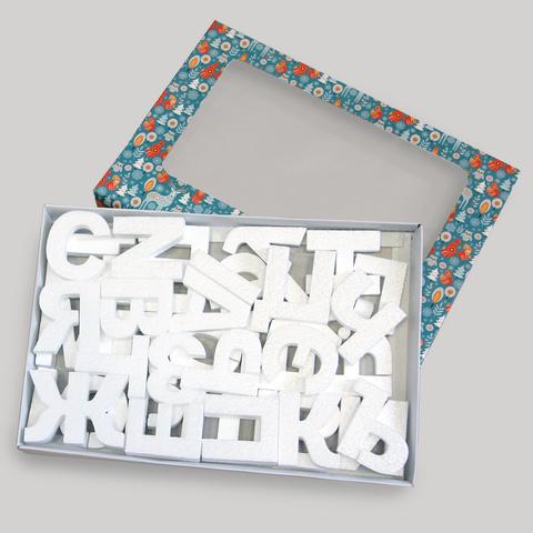 Набор алфавит из пенопласта