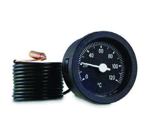Термометр капиллярный CEWAL d 52мм код 31101016