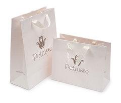 Пакет бумажный с ручками 45х45x15 Petrusse Bag large