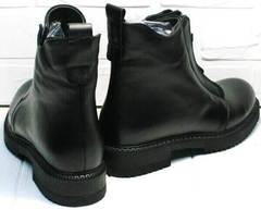 Грубые ботинки демисезонные Tina Shoes 292-01 Black.