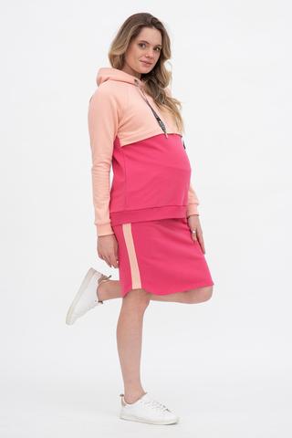 Спортивный костюм для беременных и кормящих 12552 фуксия