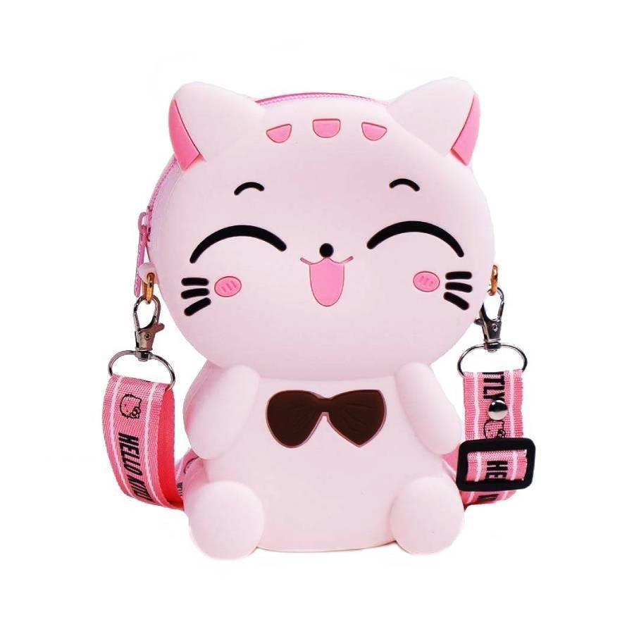 Сумки и рюкзаки Силиконовая сумочка-игрушка через плечо Кошечка silikonovaya-sumochka-igrushka-koshechka.jpeg