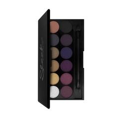 Тени для век в палетке Sleek MakeUP  Eyeshadow Palette I-Divine Vintage Romance 141, 12 тонов