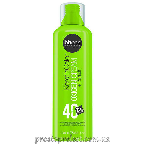 BBcos Keratin Color Oxigen Cream 40 Vol - Окислювач кремообразний 12%