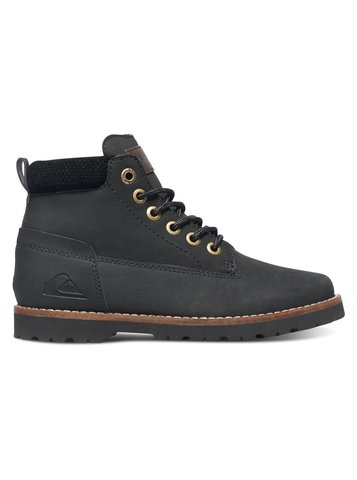 Ботинки подрост QUIKSILVER MISSION II YT B BOOT SBKM SOLID BLACK