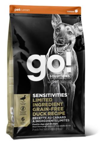 купить корм для собак GO! Sensitivity + shine duck dog recipe