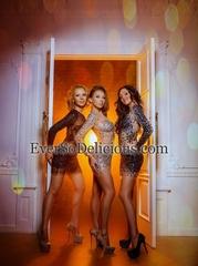 Очаровательное трио А.Н.Г.Е.Л.Ы. Charley в платьях Jovani салона EverSoDelisious