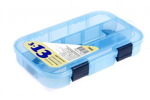 Коробка AQUATECH 7002 3-13 ячеек 2 застёжки