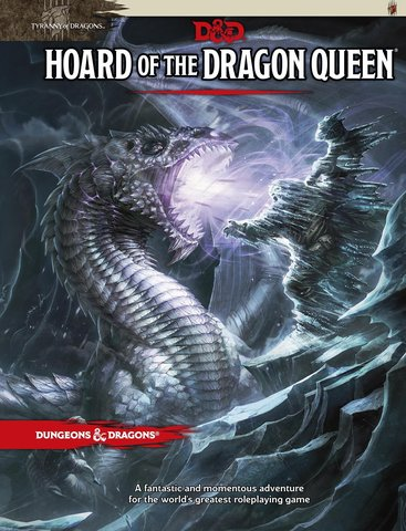 D&D Next: Tyranny of Dragons Hoard of Dragon Queen book