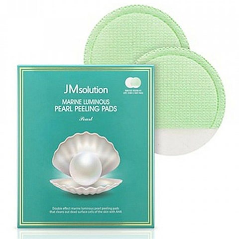 JMsolution Marine luminous pearl peeling pads
