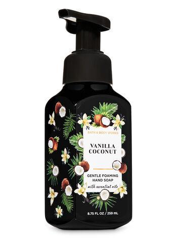 Мыло для рук Bath&BodyWorks Vanilla Coconut Gentle foaming Hand Soap 259 ml