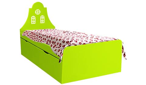 Детская кровать с одним выдвижным ящиком