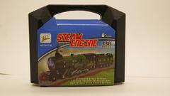 Металлический конструктор Поезд в чемодане, 338 дет.