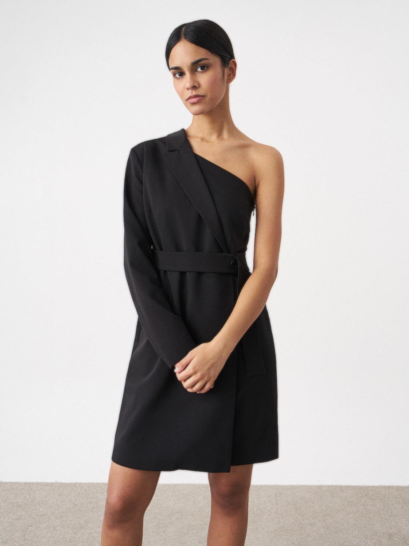 Платье-жакет Leona на одно плечо