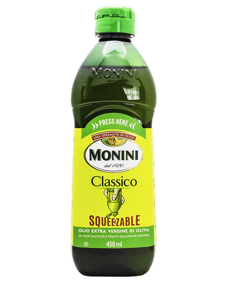 Масло оливковое Monini Классико нерафинированное c дозатором 0,45л