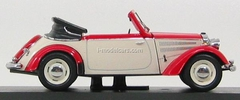 IFA F8 Cabrio red-white 1953 IST054 IST Models 1:43