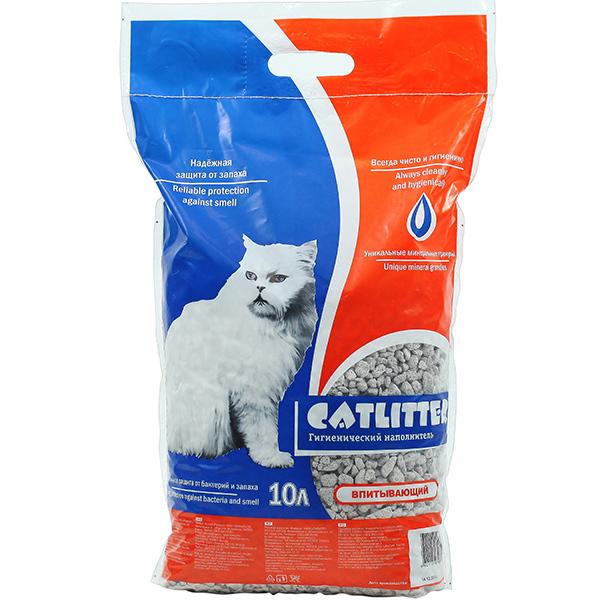 Наполнители Наполнитель для кошачьего туалета, Catlitter, впитывающий 25061.jpg