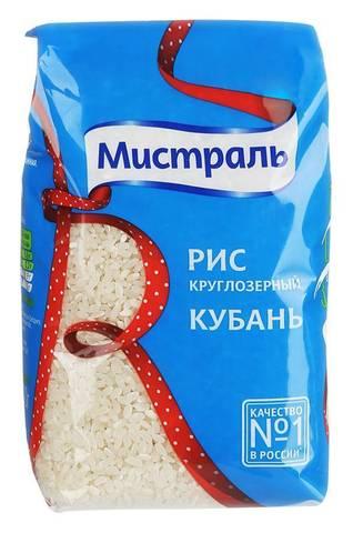 Рис круглый Мистраль МИНИМАРКЕТ 0.9кг