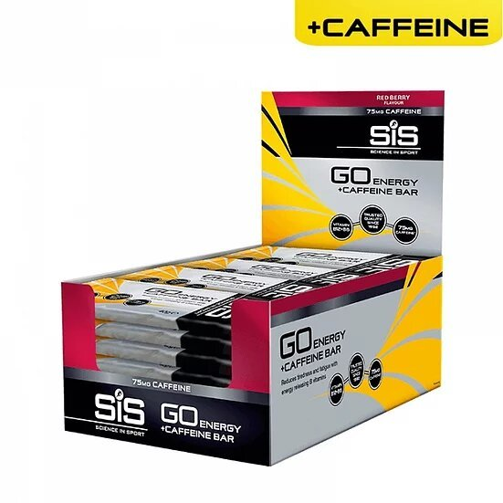 SiS Gо Energy Mini Bar + Caffeine Упаковка 30 шт, (Великобритания)