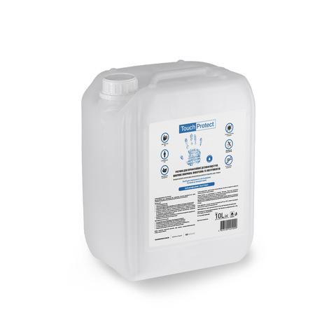 Антисептик розчин для дезінфекції рук, тіла і поверхонь  Touch Protect 10 l (1)