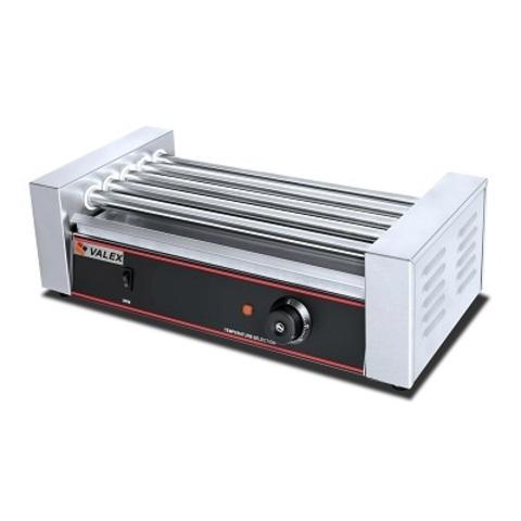 Гриль роликовый VALEX HHD-05, ( 560х255х190 мм,  1 кВт,  220В),   5 роликов