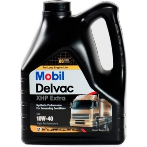 148369 MOBIL DELVAC XHP Extra 10W-40 синтетическое масло для коммерческого транспорта 4 Литра купить на сайте официального дилера Ht-oil.ru