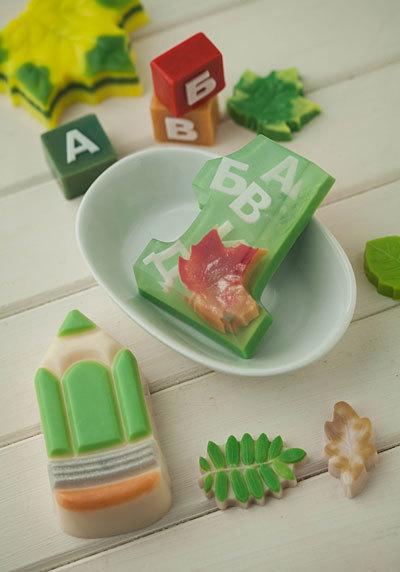 Пластиковая форма для мыловарения. Цифры